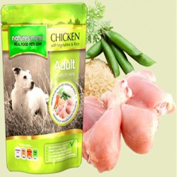 Natures Menu Pouch Pollo con Verduras y Arroz