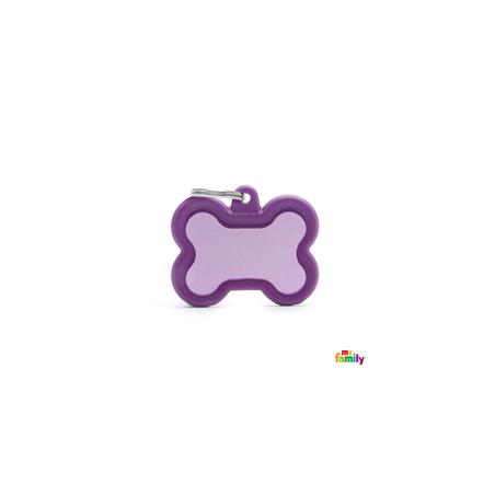 Placa Hueso Violeta Hushtag
