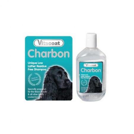 Champú Vitacoat Charbon (Pelo Negro)