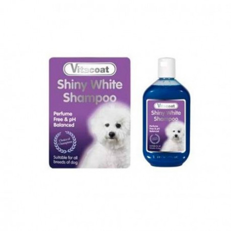 Champú Vitacoat Shiny White (Pelo Blanco)
