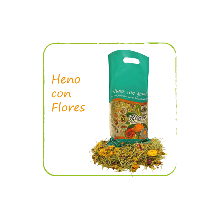 Heno Ribero Con Flores