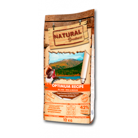 Natural Greatness Receta Optimum Mini-Medium