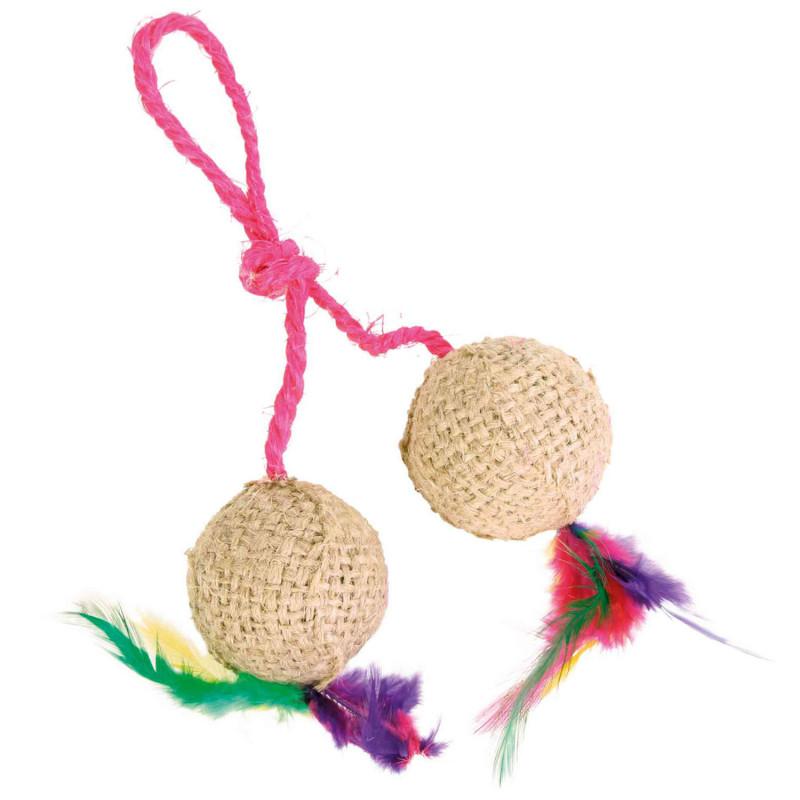 Dos pelotas Con Cuerda