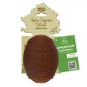 Juguete Retorn Resina Orgánica Natural Rub American Football