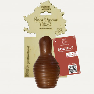 Juguete Retorn Resina Orgánica Natural Rub Bouncy M