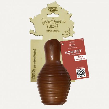 Juguete Retorn Resina Orgánica Natural Rub Bouncy L